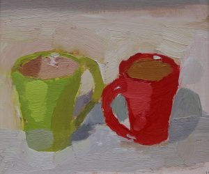 Facing Cups 10x 11 ins